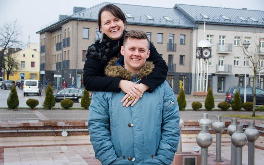 Viljo ir Simona Plungėje