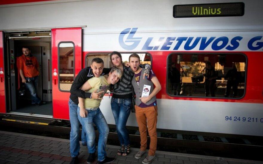 """Vilnius Music Week"" traukinys"