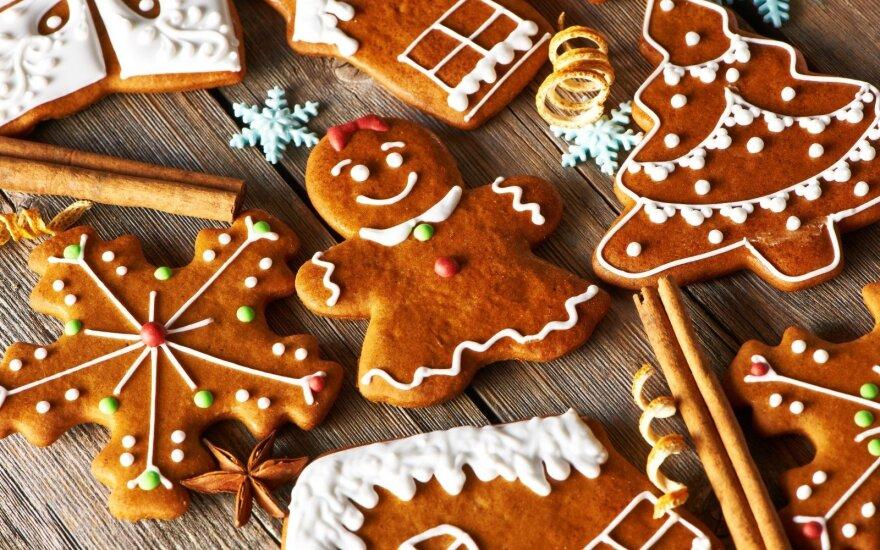 Valgomi Kalėdų eglutės papuošimai