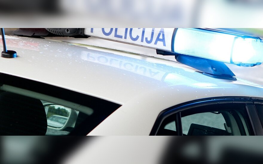 Vilniuje avarijoje nukentėjo du vaikai