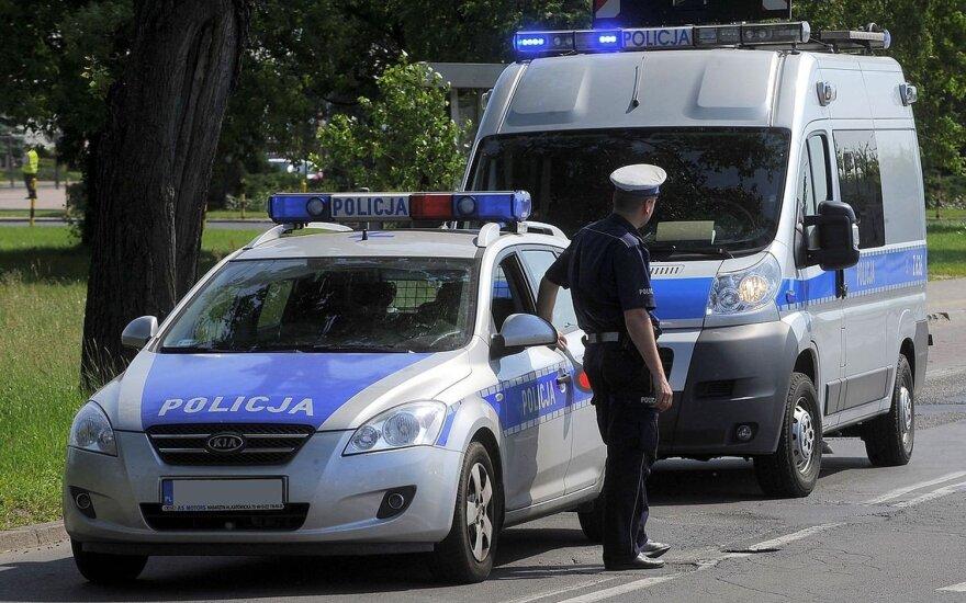 Lenkijos policijos pareigūnai (asociatyvi nuotr.)