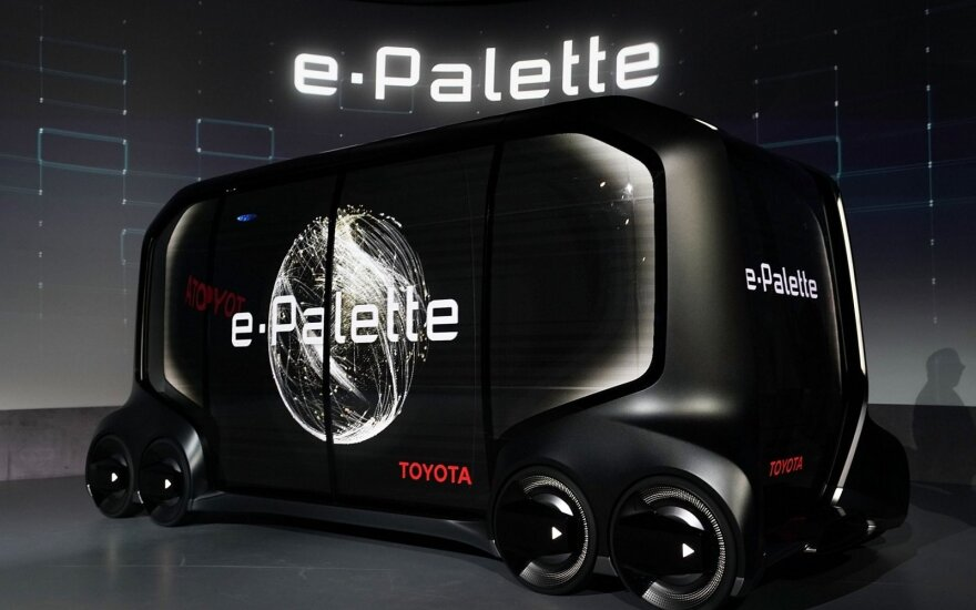 """Toyota e-Palette"""