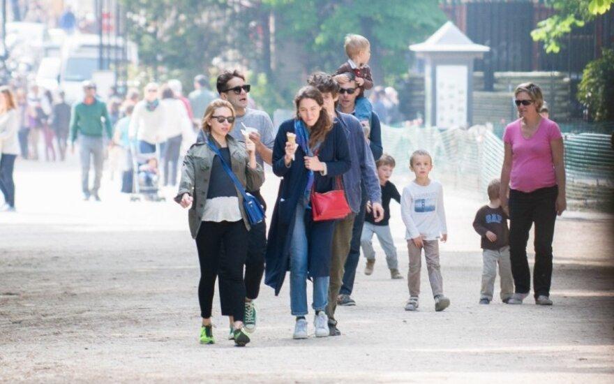 Scarlett Johansson Paryžiuje
