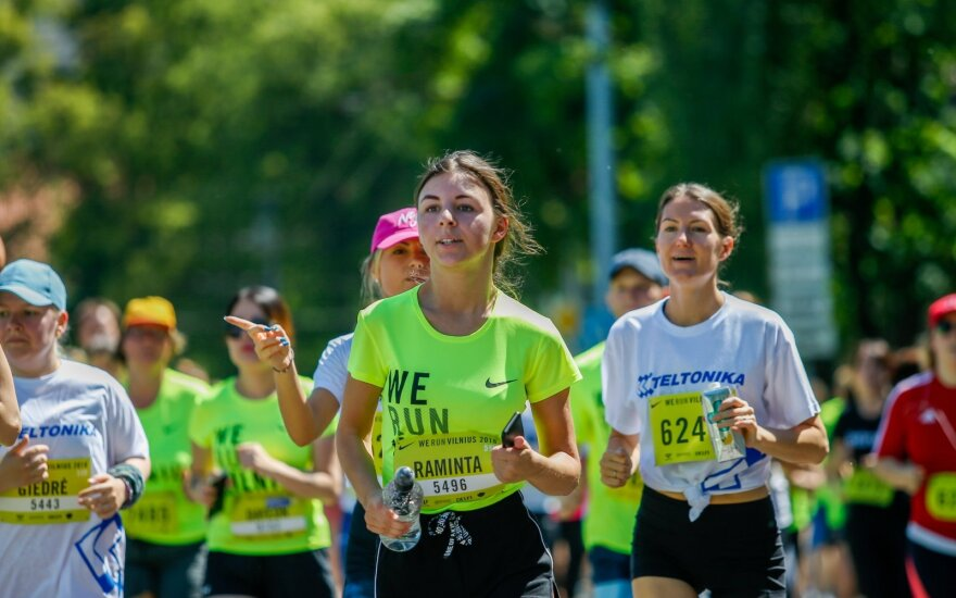 """""""We run Vilnius 2018"""" bėgimas"""
