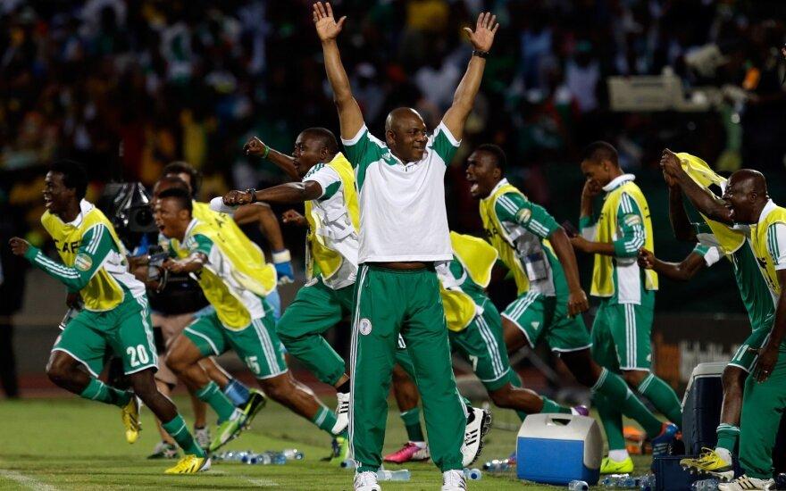 Po kuriozų virtinės Nigerijos futbolininkai į stadioną keliaus tiesiai iš lėktuvo