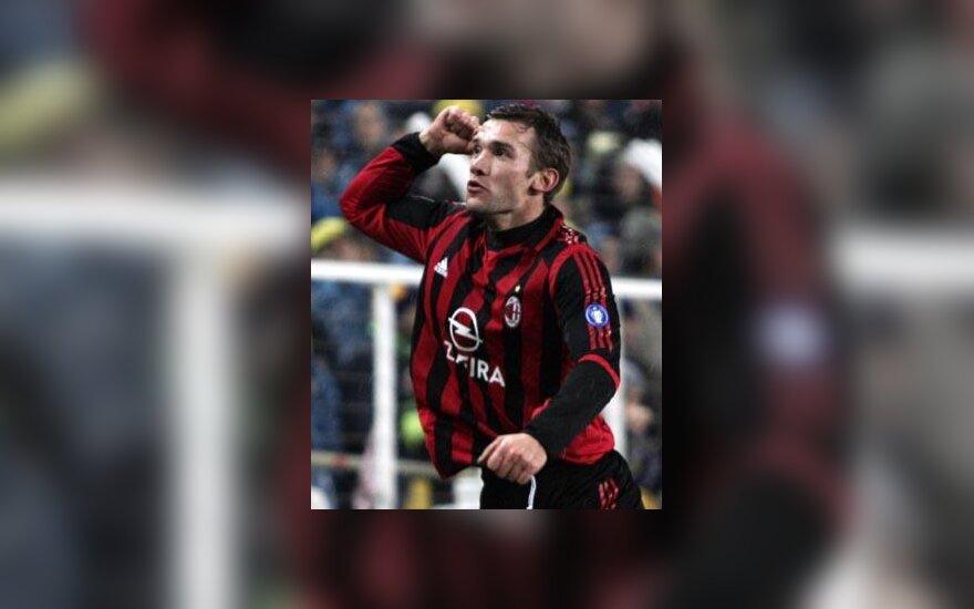 """Andrij Ševčenko (""""AC Milan"""")"""