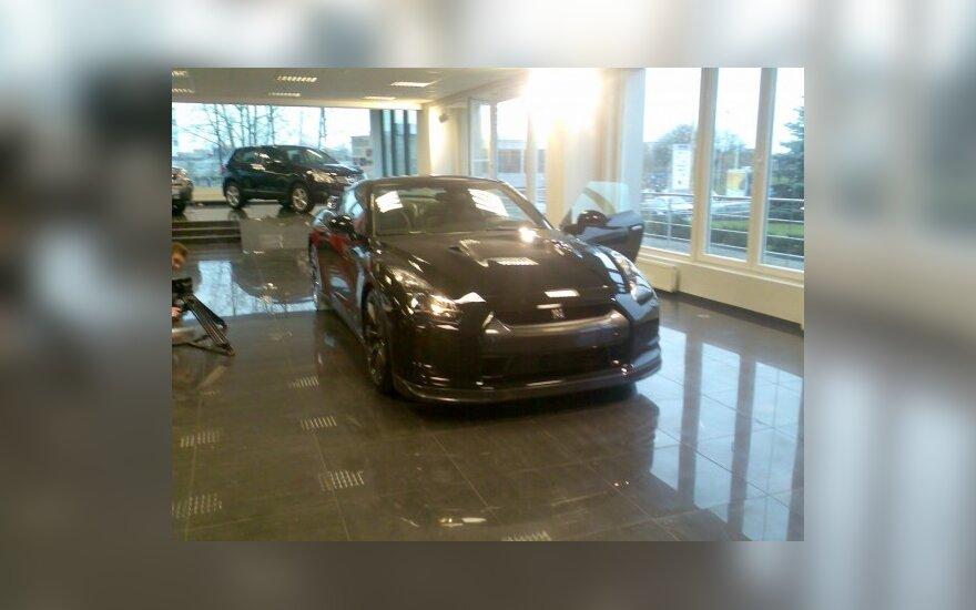Nissan GT-R pristatymas