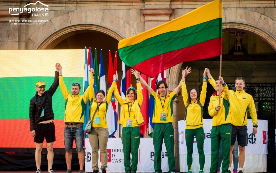 Lietuvos bėgikų rinktinė pasaulio bekelės bėgimo čempionate