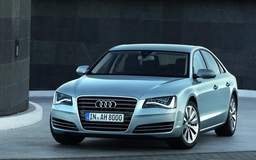 """Audi A8"" (asociatyvi nuotr.)"