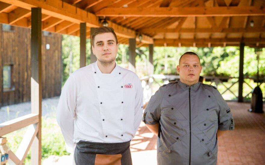 Virtuvės šefai Gabrielius ir Šarūnas