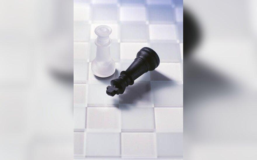 Planetos šachmatų olimpiadoje Lietuvos vyrai pakilo į 26-ą vietą