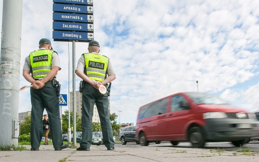 The traffic police