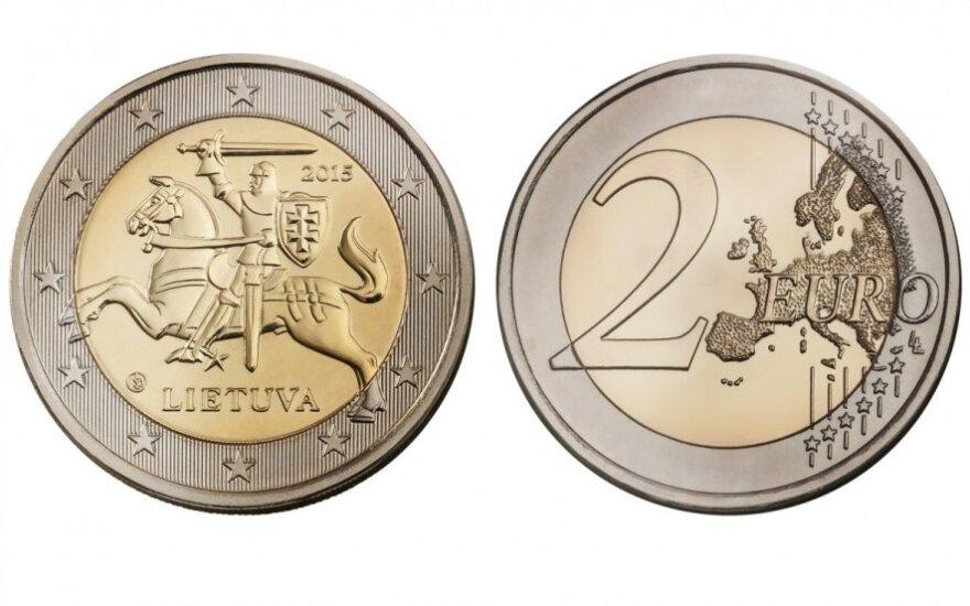 Lietuviški eurai įgauna realų pavidalą