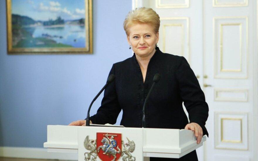Kas iš tiesų remia D. Grybauskaitę