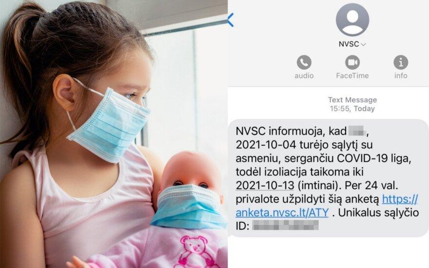 COVID-19 susirgusią dukrą slauganti vilnietė apie jos saviizoliaciją sužinojo atgaline data: baisu pagalvoti, kiek žmonių galėjome užkrėsti