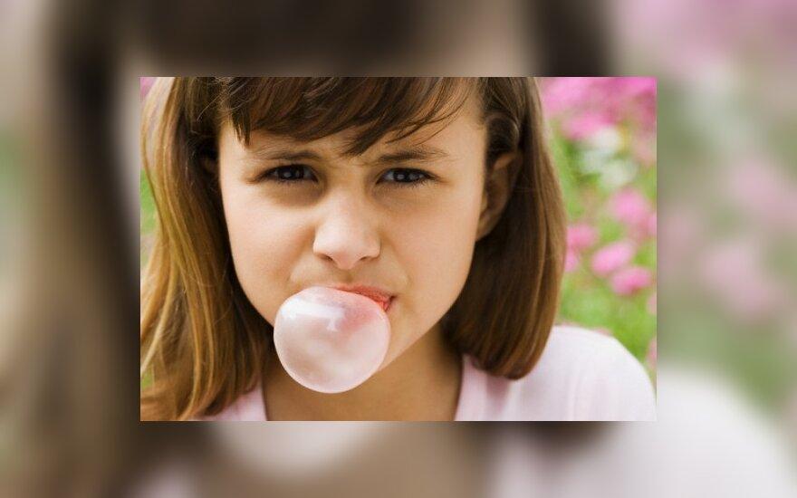 Leis per pamokas kramtyti gumą