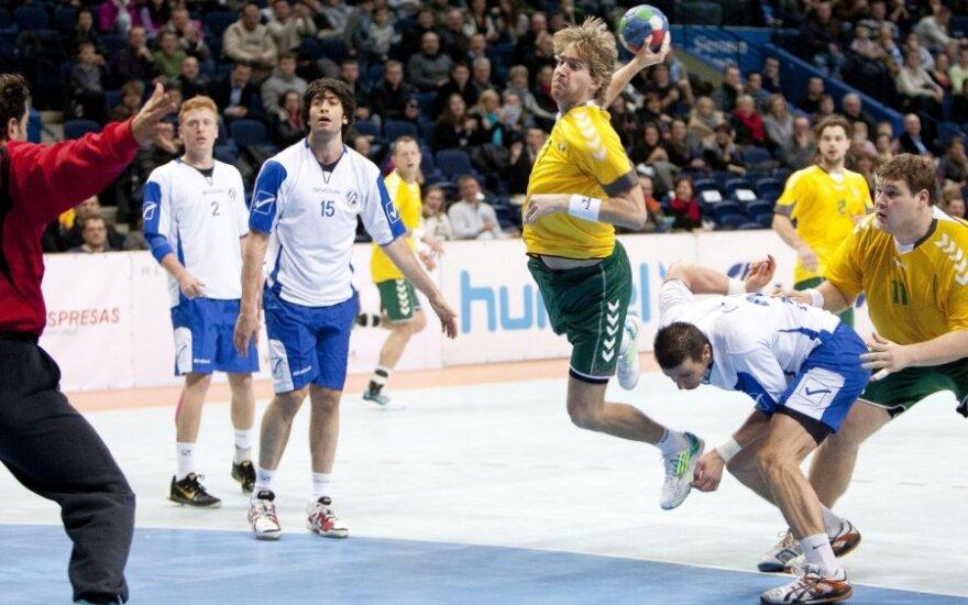 Pasaulio rankinio čempionato atrankoje - Lietuvos rinktinės pergalė prieš Italiją