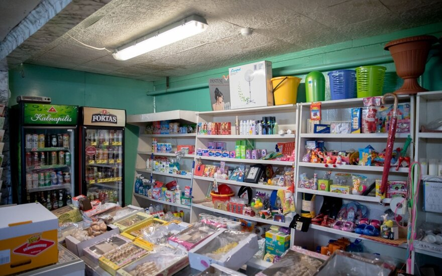 Parduotuvės savininkas įvertino mokesčių pertvarką: siūlau Vyriausybei nusileisti ant žemės