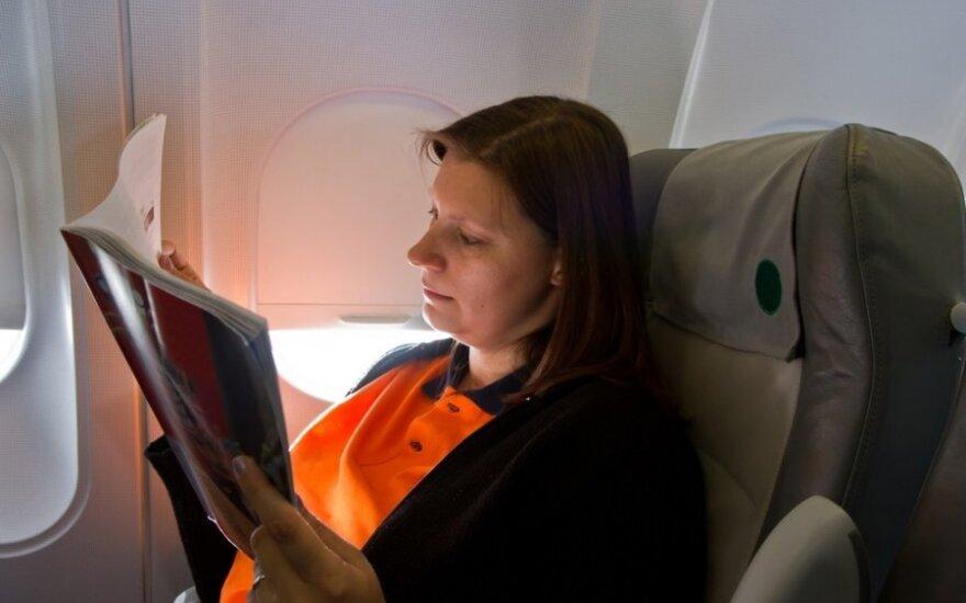 Vyresnėms nei 35 moterims, vartojančioms kontraceptikus, ilgi skrydžiai gali būti mirtini