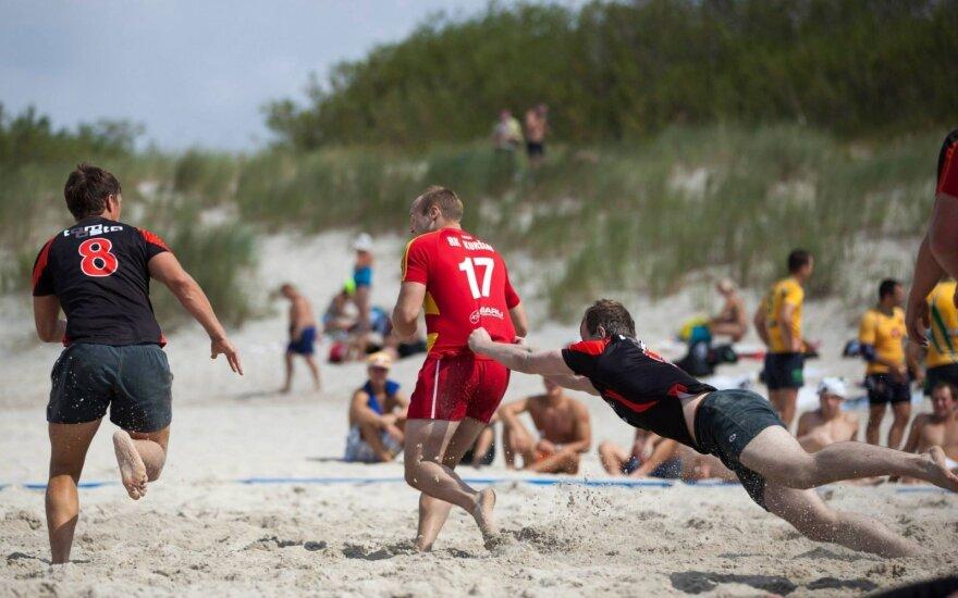 Paplūdimio regbis