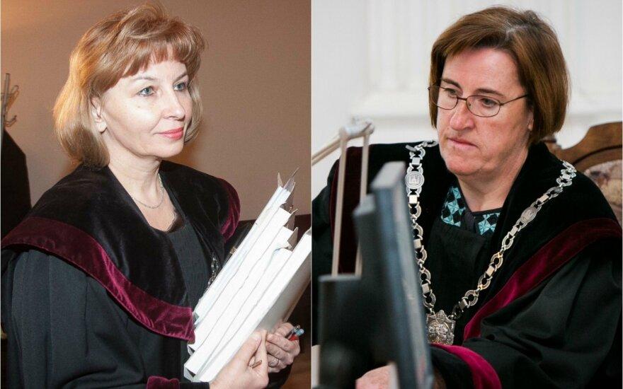 Regina Pocienė (kairėje) ir Jolanta Čepukėnienė