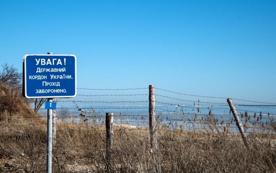 Ukraina dėl cheminės nelaimės uždarė sieną su Krymu