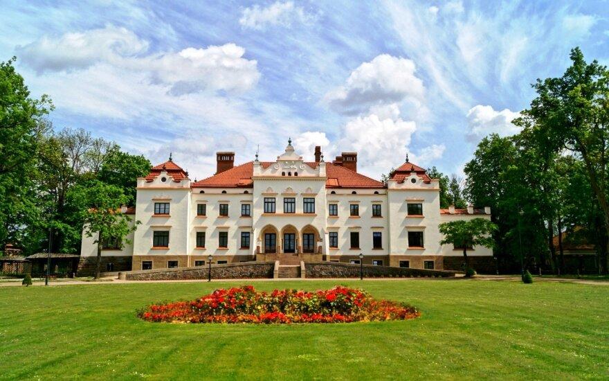 Rokiškio dvaras (Rokiškio krašto muziejaus nuotr.)