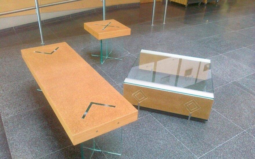 I. Valentinienės kurti baldai