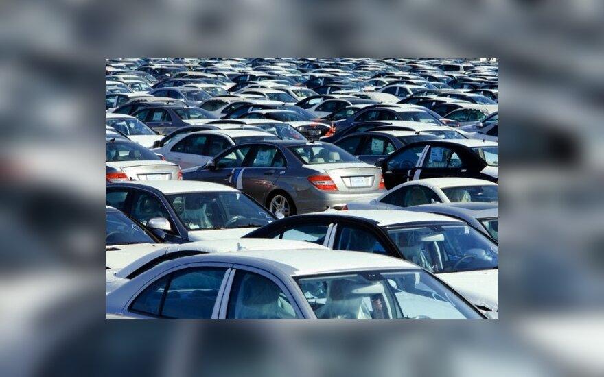 Kinija tampa didžiausia automobilių rinka