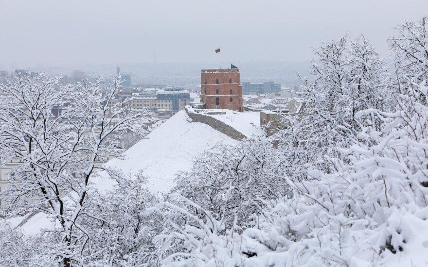 Sniegas, Vilnius