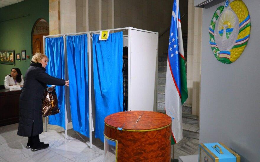 Į Uzbekistano parlamentą pateko visos penkios provyriausybinės partijos