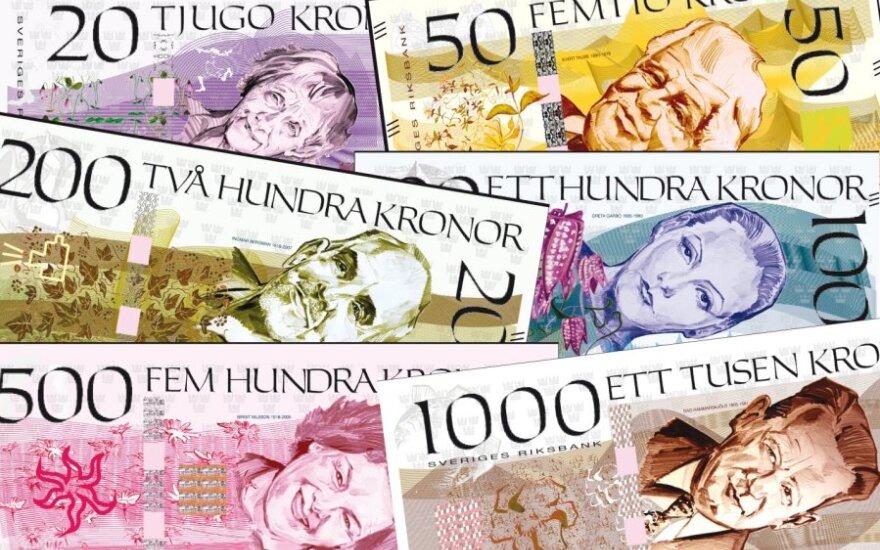 Naujos Švedijos kronos Riksbank nuotr.