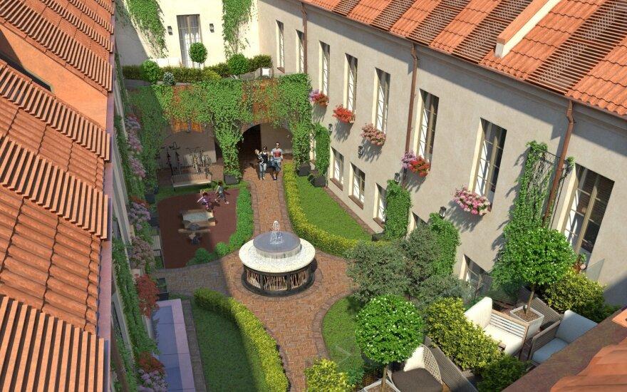 Šalia Visų Šventųjų bažnyčios siūlys prabangius apartamentus