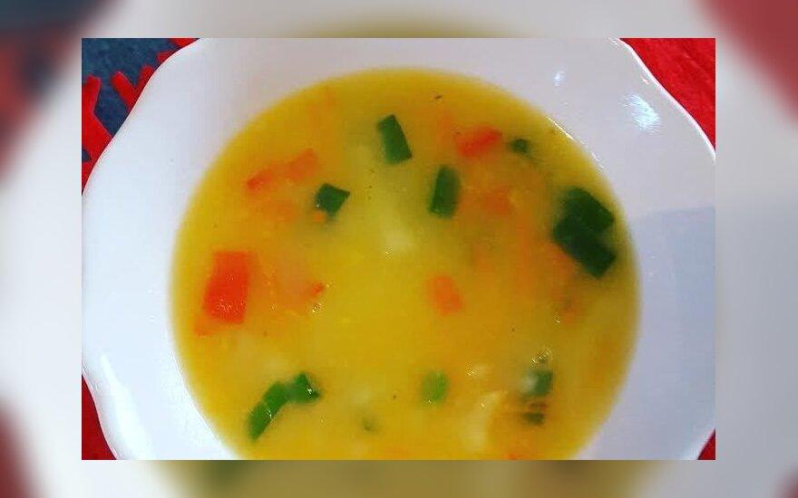 Trintų bulvių sriuba