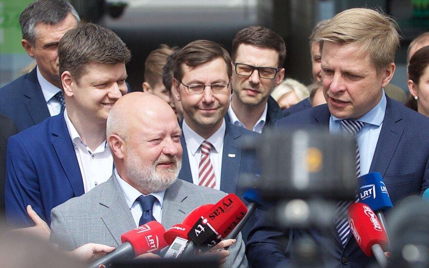 Eugenijus Gentvilas, Gintaras Steponavičius, Remigijus Šimašius
