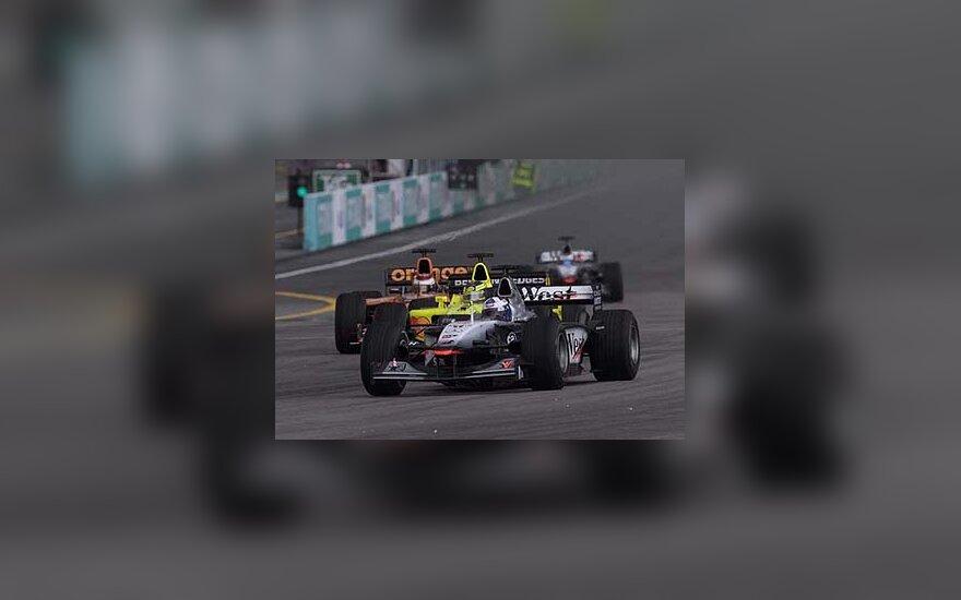 D.Coulthardo bolidas