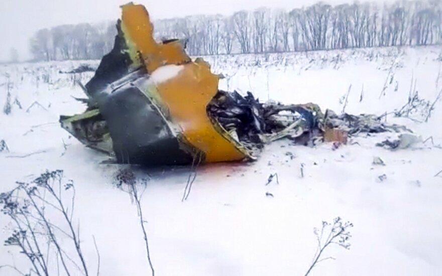 Lėktuvo katastrofa sekmadienį netoli Maskvos – didžiausia pagal aukų skaičių nuo 2016-ųjų pabaigos