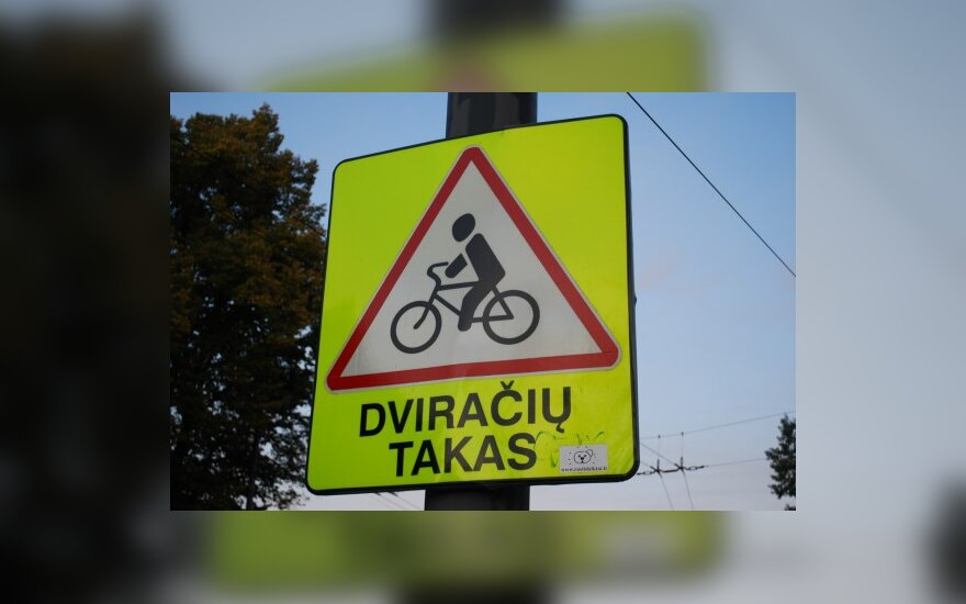 Kaune už 700 tūkst. Lt bus įrengti dviračių takai