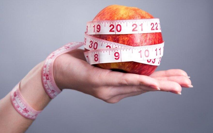 Kaip neužkibti ant apgaulingų greitų dietų kabliuko?