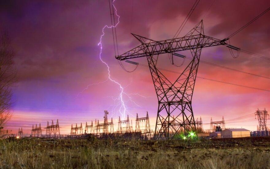 Elektros kainų šuolis