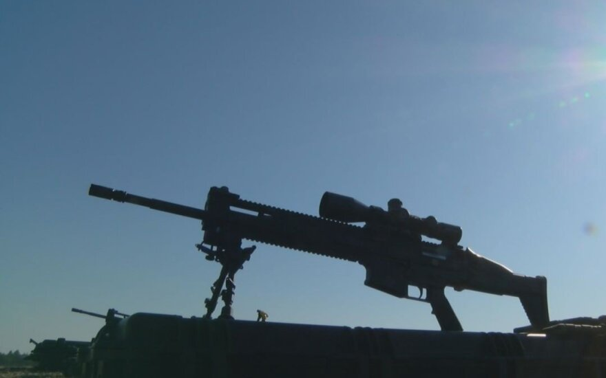 Semi-automatic FN SCAR-H PR