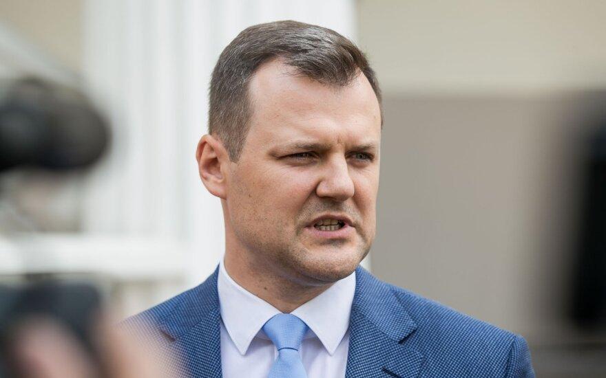 Paluckas savo kandidatūros naujuose Seimo rinkimuose nesvarsto