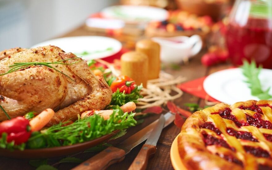 Iškilmingi patiekalai šv. Kalėdų stalui