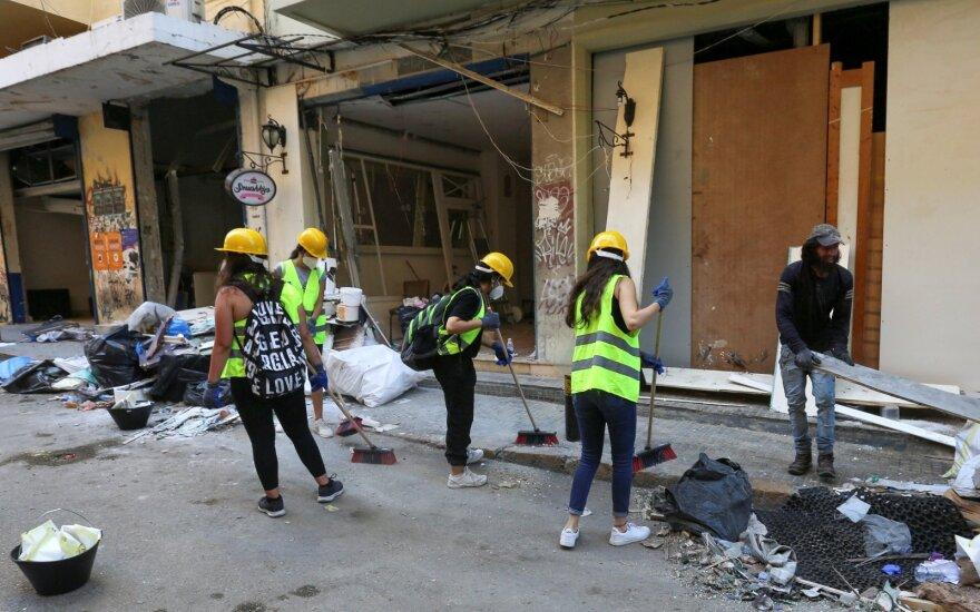 Sprogimo Beirute padariniai