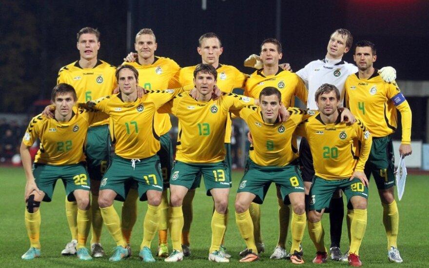 FIFA reitinge Lietuvos futbolo rinktinė pakilo į 103-ią poziciją