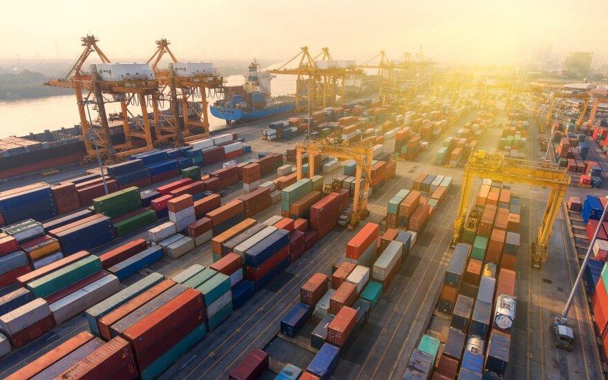 Per metus eksportas sumažėjo 2,5 proc.