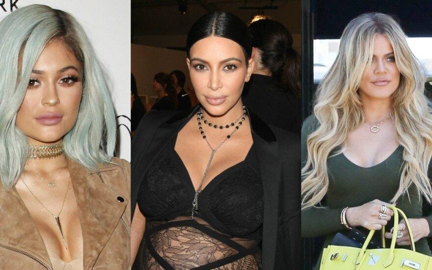 Kylie Jenner, Kim Kardashian, Khloe Kardashian