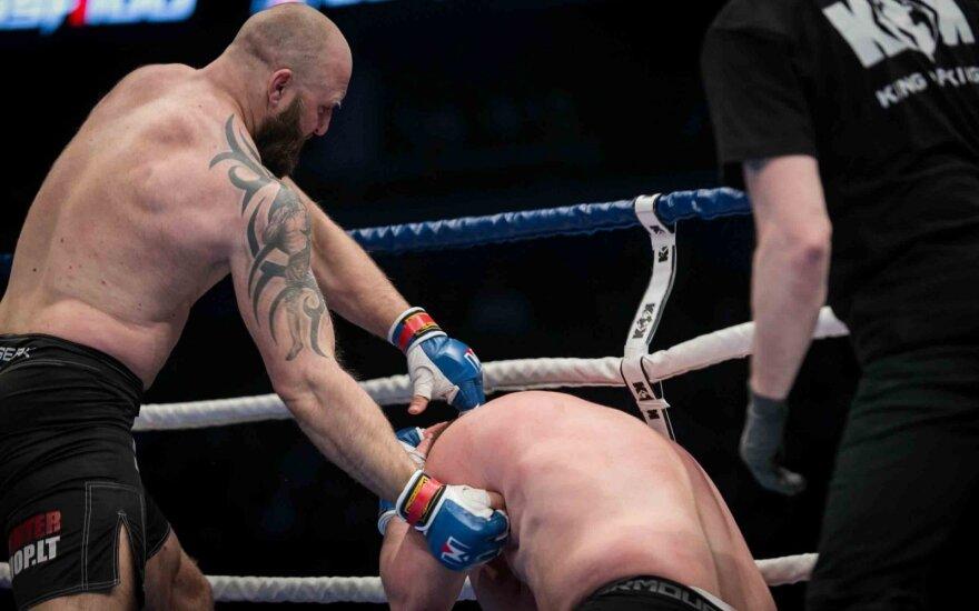 Narve dėl titulo kovosiantis Pakutinskas neabejoja – už varžovą tikrai bus geresnis