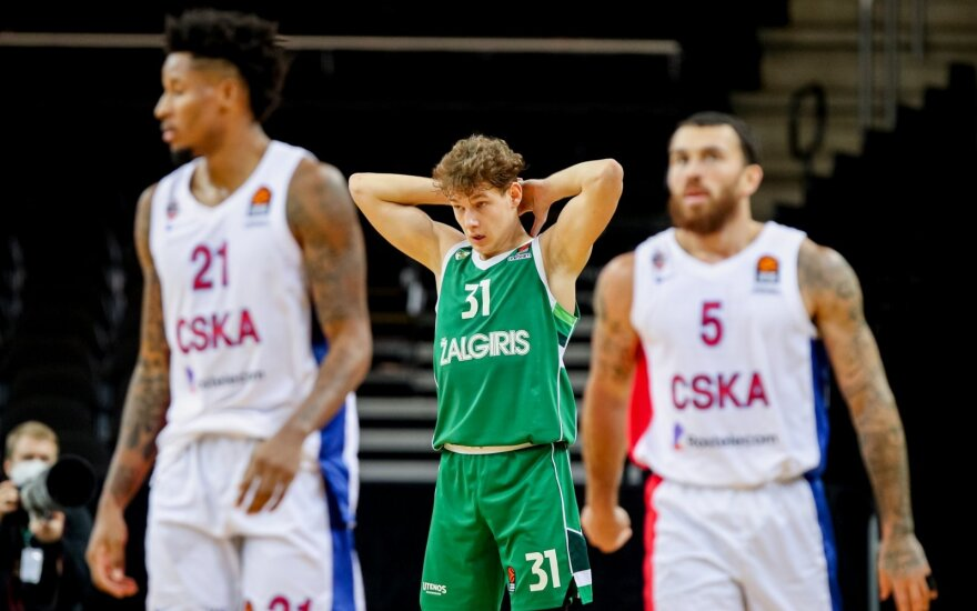 Dėl skaudžių klaidų save plakę žalgiriečiai CSKA žvaigždes apipylė ditirambais