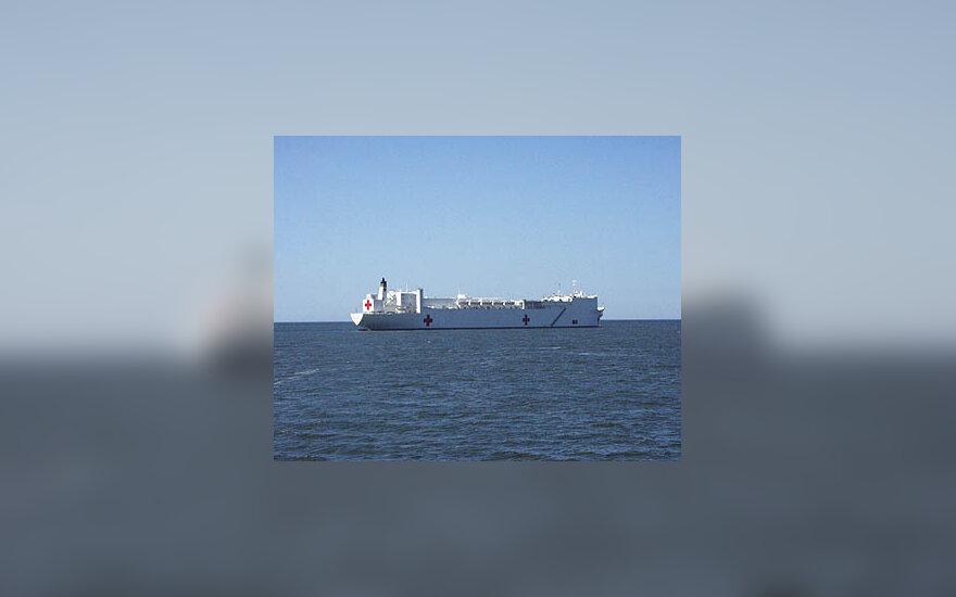 """Comfort"", laivas, ligoninė"